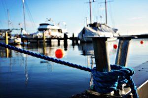 Yachtliegeplatz in Kiel