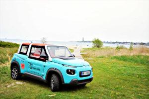 Mit dem Elektroauto zu den Kieler Stränden