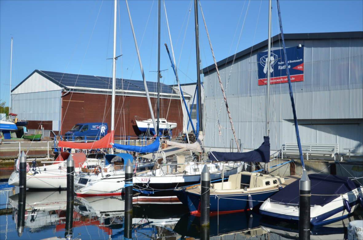 Yachthafen in der Kieler Bucht