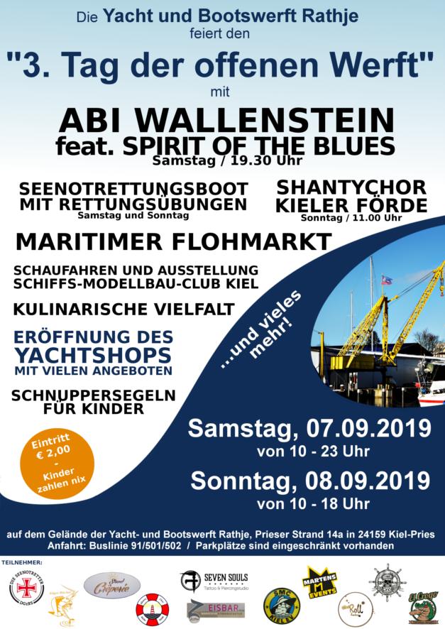Plakat 3 Tag der offenen Werft in Kiel