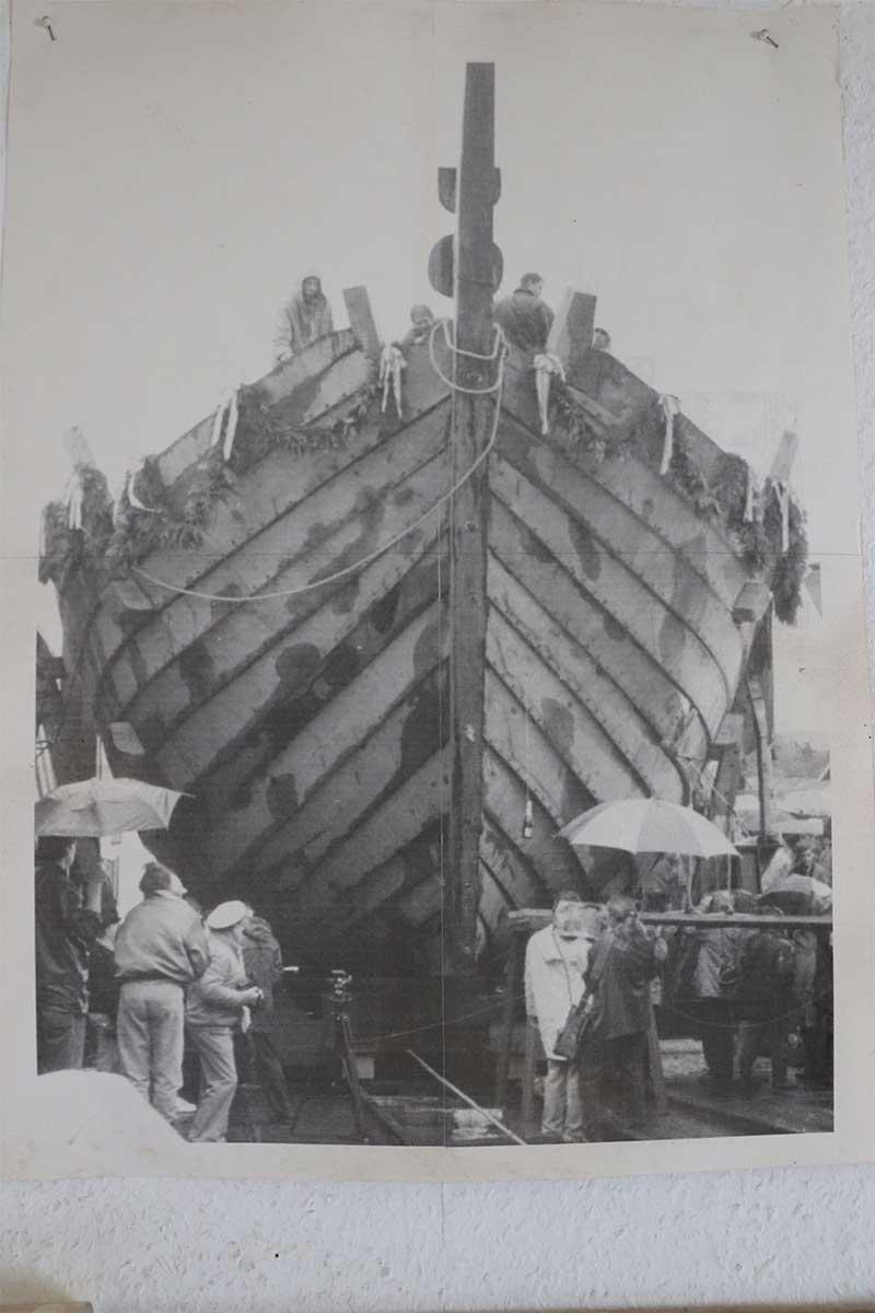 Segelschiff Hansekogge
