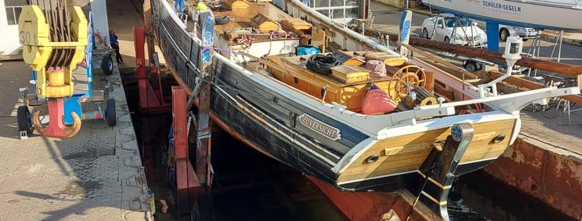 Schiffssanierung Traditionssegler Zuversicht Rathje Kiel