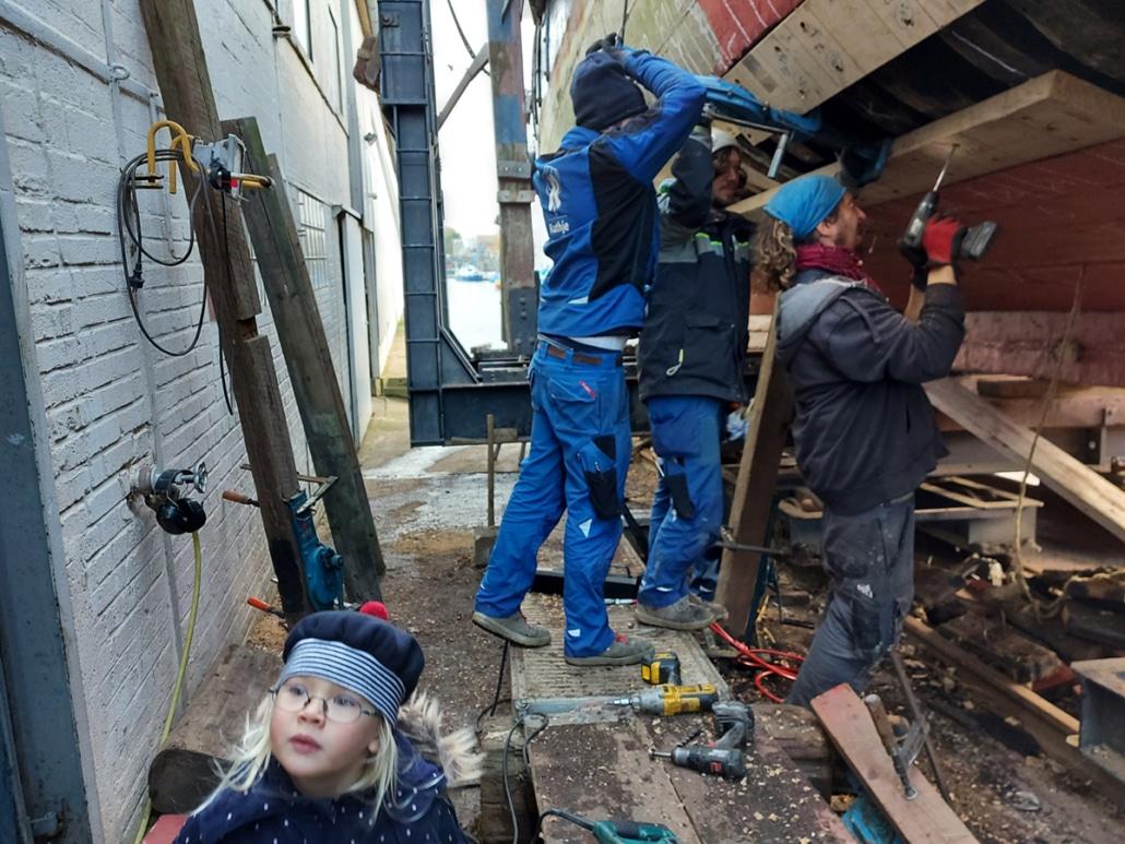 Sanierung Zuversicht Rathje Kiel