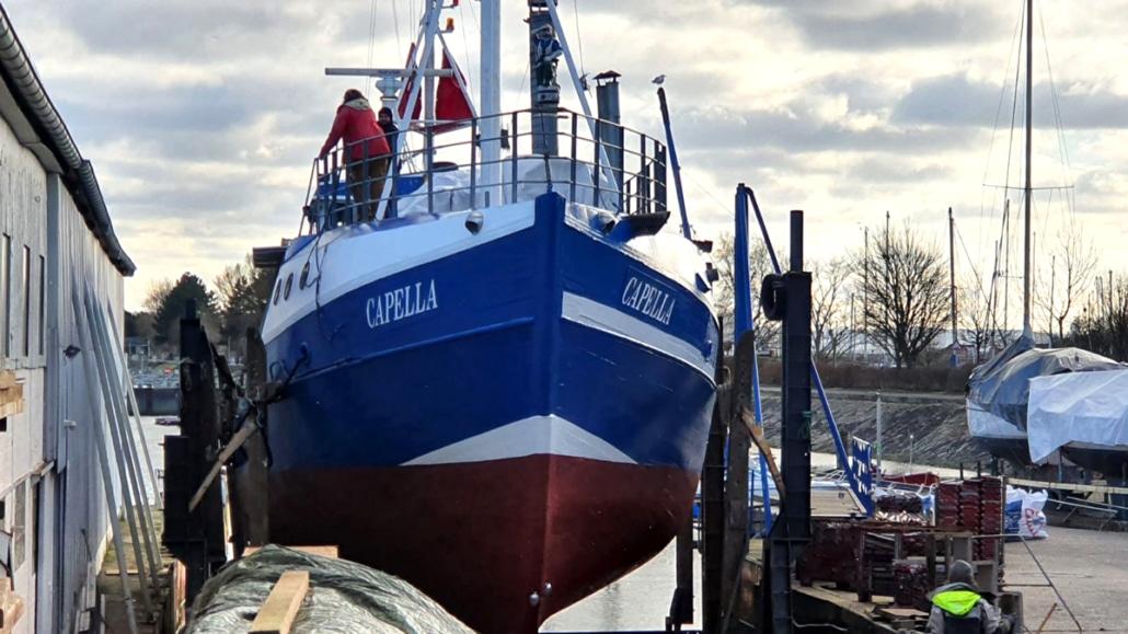 Förderantrag für Traditionsschiffe
