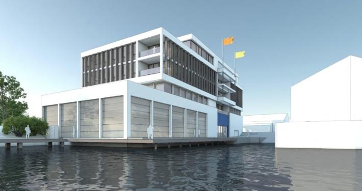 Planung einer neuen Halle - Rathje Werft