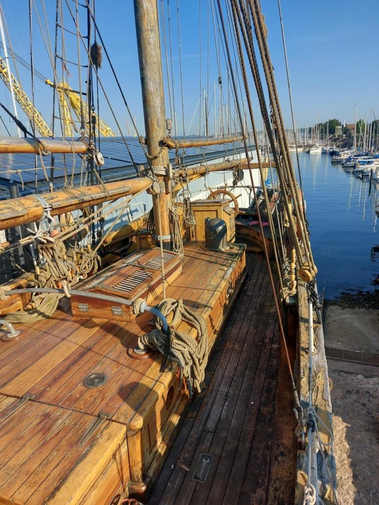 Traditionsschiffe in der Rathje Werft Kiel