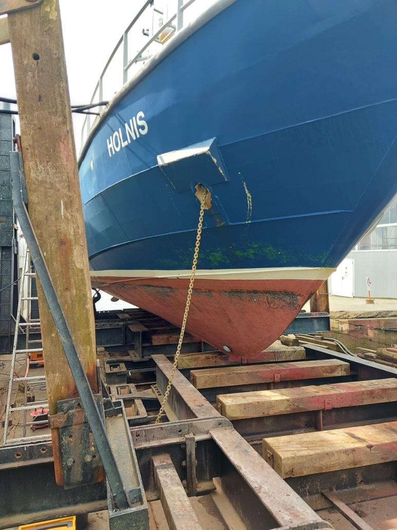 Zollboot Holnis
